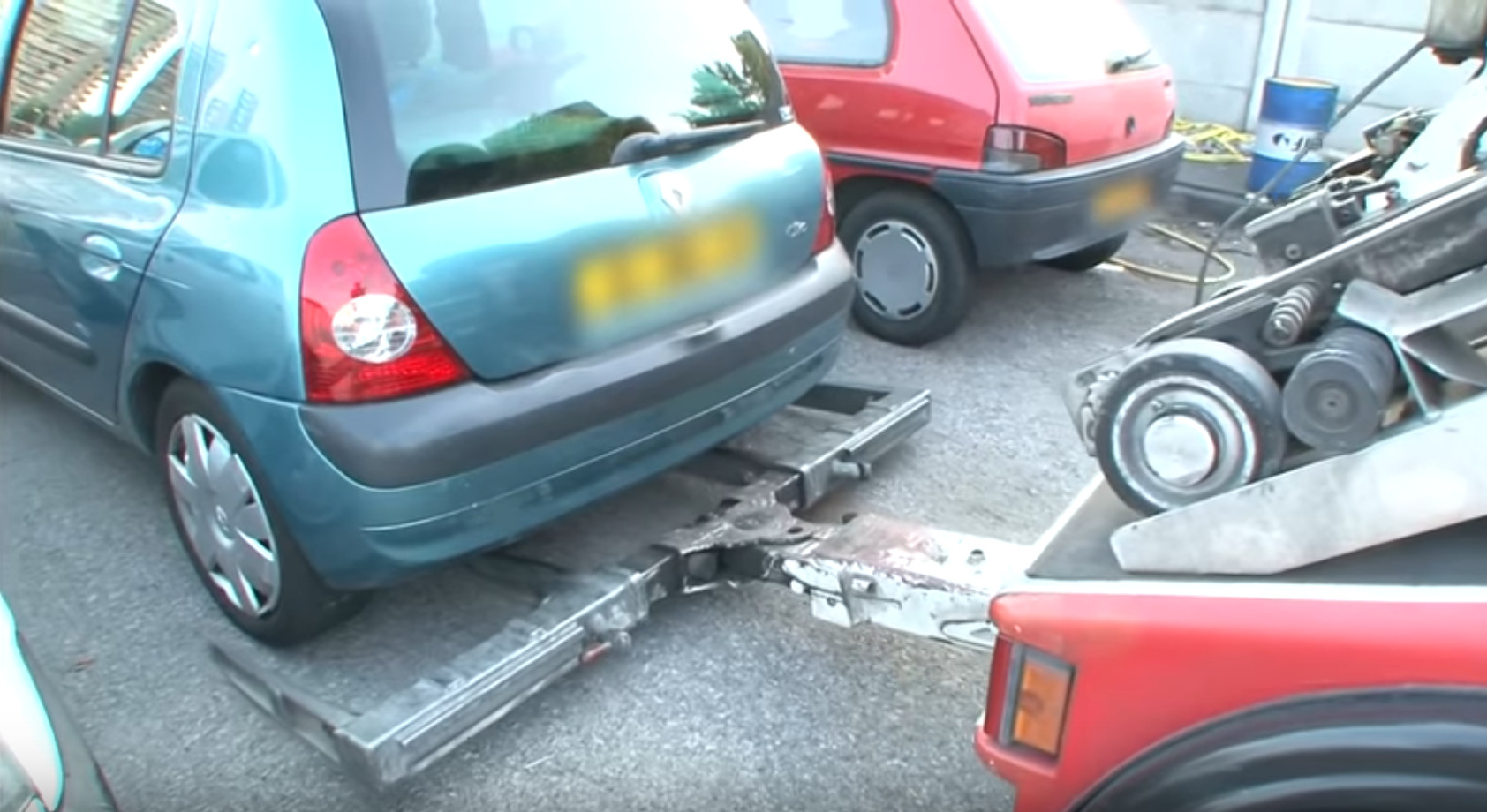 Enlèvement voiture à Gaillard